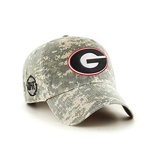 '47 Georgia Bulldogs Brand Operation Hat Trick OHT Digital Camo Relax Hat Cap
