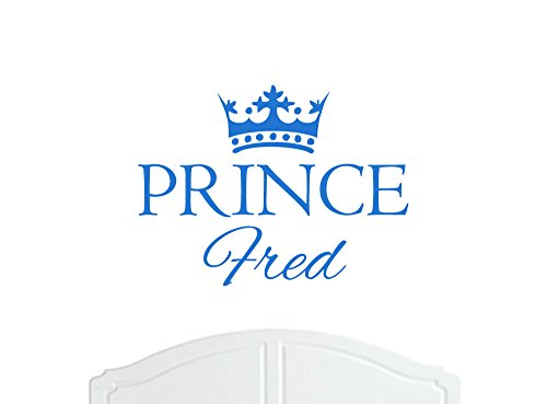 Crown Prince Fred Regular Wall Sticker / Vinyl Decal Bed Room / Nursery Art Boy / Baby - Choice of Size and Colours