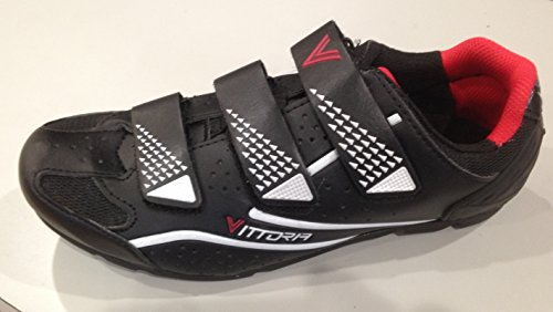 VITTORIA CYCLING SHOES FORCE TALLA 39 Negro