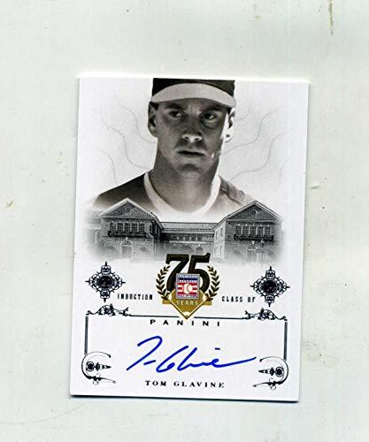 (Signed Tom Glavine Ball - 2014 Panini Hall of Fame BEAUTY! - Panini Certified - Autographed Baseballs)