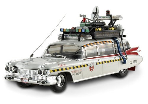 Cadillac 1959 Ambulance (Ghostbusters II Ecto 1A Ambulance 1/43 Elite White)