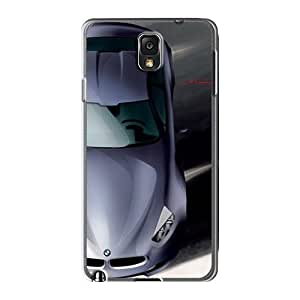 Tough Galaxy QLR2411UnJh Cases Covers/ Cases For Galaxy Note3(bmw Concept Cs Top Sketch)