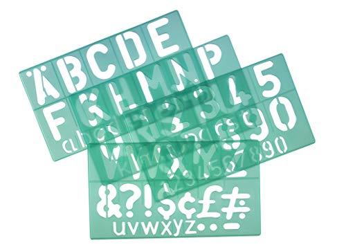 Linex G8550 Plantilla Estandar De Numeros Letras Y Simbolos 50