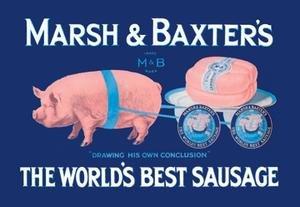 (Buyenlarge Marsh and Baxter's World's Best Sausage Fine Art Canvas Print (28