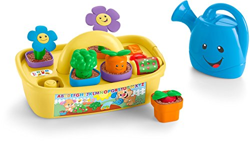 41%2BnpP6BXEL - Fisher-Price Laugh & Learn Smart Stages Grow 'n Learn Garden Caddy (Amazon Exclusive)