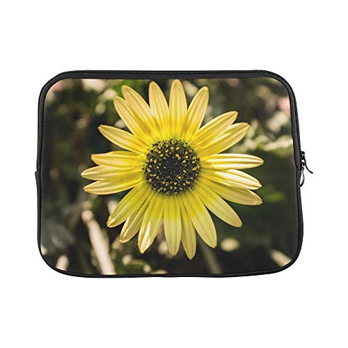 Design Custom Daisy Flower Spring Yellow Flowers Daisy Flower Sleeve Soft Laptop Case Bag Pouch Skin for MacBook Air 11