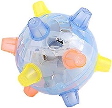 kimberleystore Creative LED Jumping pelota de juguete niños ...