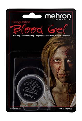 Mehron Makeup Coagulated Blood Gel (.5 oz),Red]()