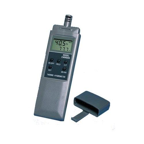 General Tools CMM880, Digital Hand-Held Thermo-Hygrometer, 4 pc