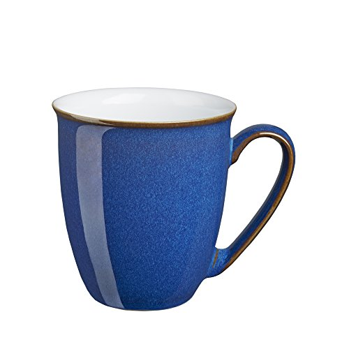 Denby Imperial Blue Coffee - Denby White Coffee