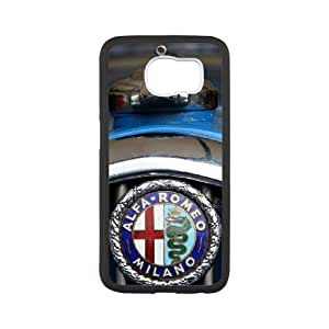 Alfa Romeo For Samsung Galaxy S6 Cell Phone Case White ADS086313