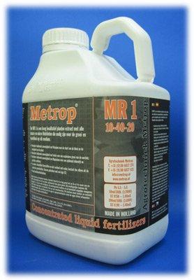 Metrop MR1 5l 5000ml Dünger Nahrung Dung Hydro Erde Top Grow flüssig