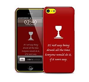 got drunk quote iPhone 5c protective phone case by supermalls