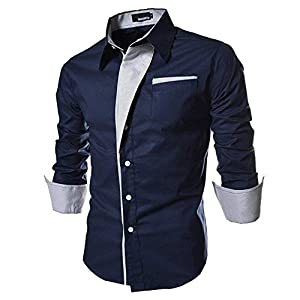 Krishna Emporia Men's Regular Fit Casual Shirt