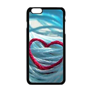 red line heart personalized high quality cell phone case for Iphone 6 Plus by mcsharksby Maris's Diary
