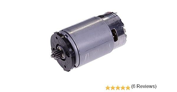 Motor DeWalt RS550,/QC143315,/N038034 cepillos para taladro atornillador DCD710,/10,8/V