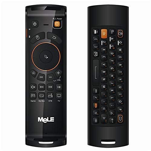 Calvas MeLe F10 Deluxe 2.4GHz Wireless Gaming Remote Keyboards Fly Air Mouse Remote Controller For Smart Android Tv Boxs Mini Pc