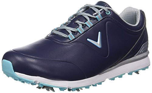 Callaway Women's Lady Mulligan Waterproofs Golf Shoes, Peacoat/Blue, 5.5 (38.5 EU)