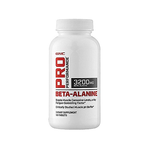 GNC Pro Performance Beta-Alanine, 120 Tablets, Supports Muscle ()