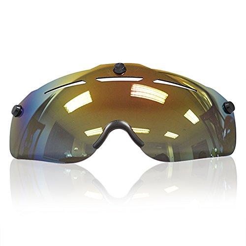 Road / Mountain Bike Helmet's Visor (Colorful) For Sale