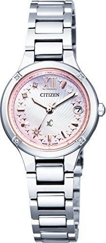Citizen Xc Limited Model Titania Line Minisol Eco-drive Es8090-64w Ladies
