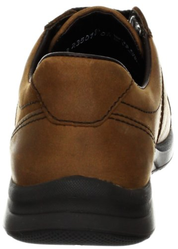 Mephisto Mens Hero Oxford, Dark Taupe Sport Marrone Scuro Empereur