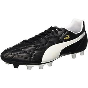 PUMA Classico iFG Mens Soccer Boots/Cleats-Black-9