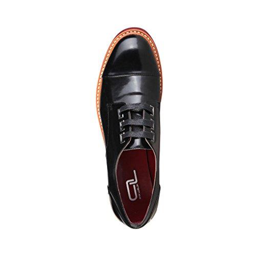 Ana Lublin Zapatos de cordones Burdeos