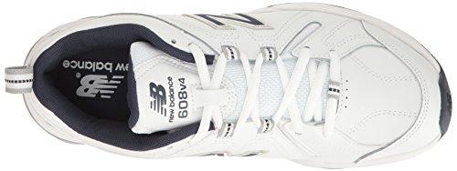 New Balance Men's MX608v4 Training Shoe, White/Navy, 10.5 4E US by New Balance (Image #11)