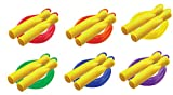 Champion Sports 8ft Ball Bearing Licorice Speed Jump Rope, Assorted Colors