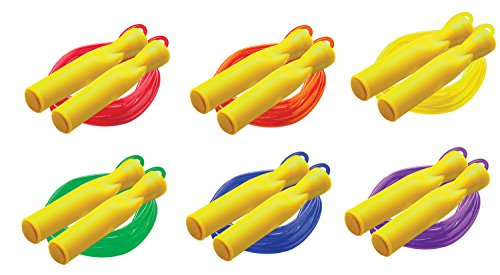 Champion Sports 8ft Ball Bearing Licorice Speed Jump Rope, Assorted Colors by Champion Sports