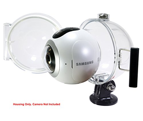 underwater housing case for samsung gear 360 camera 2016 v1 only not 2017 version buy. Black Bedroom Furniture Sets. Home Design Ideas