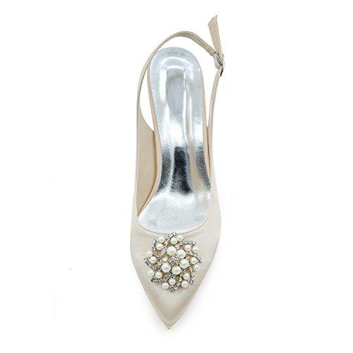 L@YC Consejo De Tacones altos Para Mujer Bodas De Tarde / Fiesta Y Zapatos MáS Colores Disponibles 1608-20W Red