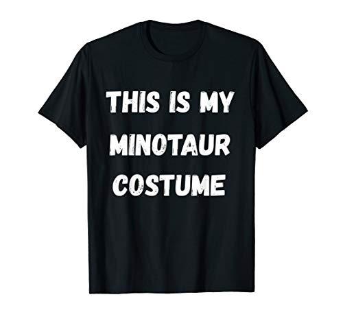 This Is My Minotaur Costume Minos Myth Cretan Greece T-Shirt ()