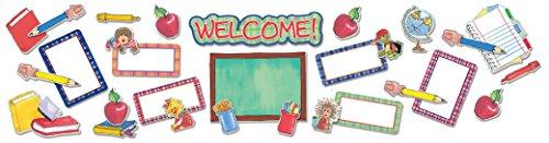 Eureka Suzy's Zoo Welcome Frames Bulletin Board Set (847472)