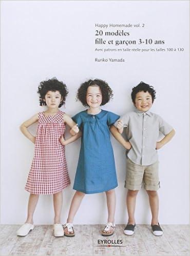 Download Happy Homemade, volume 2 : 20 modèles fille et garçon 3-10 ans pdf ebook