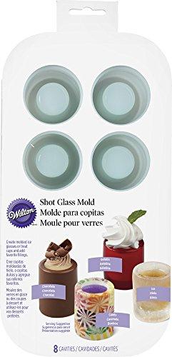 Wilton-570-0118-8-Cavity-Round-Silicone-Shot-Mold-Green