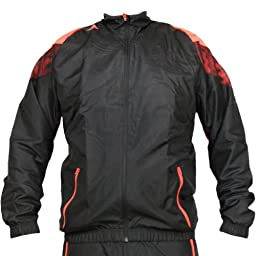 Adidas F50 Woven Jacket - Black/Infared (Men) - Large