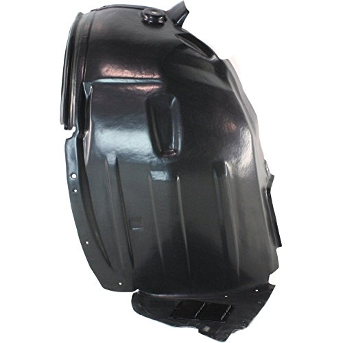 Splash Shield Front Right Side Fender Liner Plastic Front Section for R-CLASS 06-10 (2008 Mercedes Benz R Class R350 4matic)