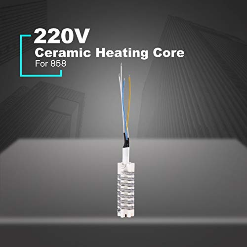 Electric Soldering Heating Element Ceramic Structure with Mica Paper for 220V for Saike Hot 852D 952D 8586D 858 898D 858D
