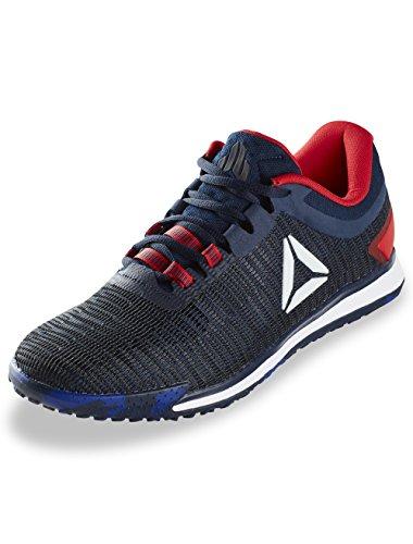 Reebok Mens Jj Ii Low Sneaker Blu Navy / Primal Rosso / Profondo Cobalto