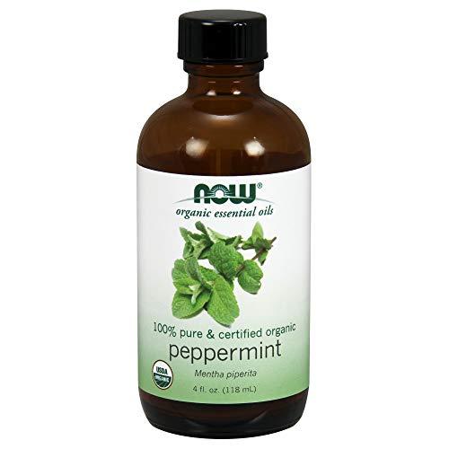 Now Essential Oils, Organic Peppermint Oil, 4-Ounce