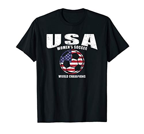 USA United States Women 2019 T Shirt Soccer World - States United T-shirt Soccer