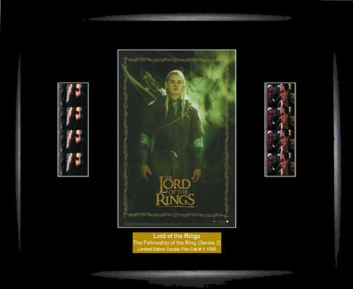 Double Series 2 Film Cell (Lord of the Rings - LOTR - The Fellowship Of The Ring (Series 2) - Double Film Cell by Film Cell Favourites)
