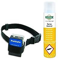 PetSafe - Collier Anti-Aboiement à Spray pour Chien [Formule Ecologique - Spray Citronnelle inclus] Léger, Imperméable