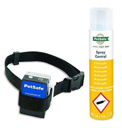 PetSafe Anti Bark Spray Collar, Necks up to 60 cm, Adjustable, Spray Stimulation, Automatic