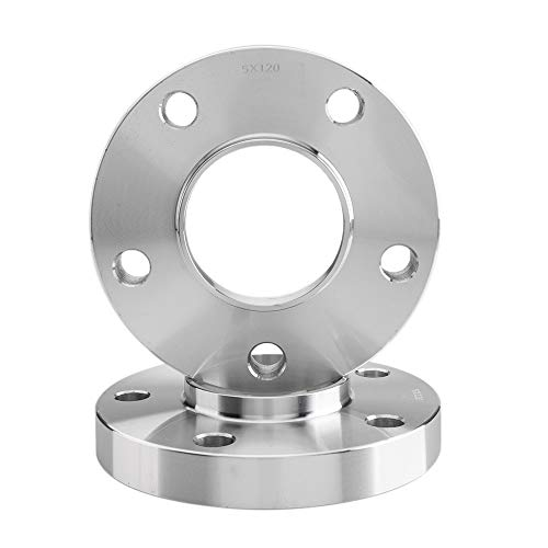 Autoforever 2Pcs Wheel Spacers Adapters 2 Inch 5x120 to 5x120 Wheel Spacers 1.5'' 72.56mm 10-12x1.5 Wheel Adapters for 92-06 BMW 325i 94-13 BMW M3 Z3