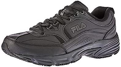 Fila Women's Memory Workshift Trail Running Shoes, Black, 10 US