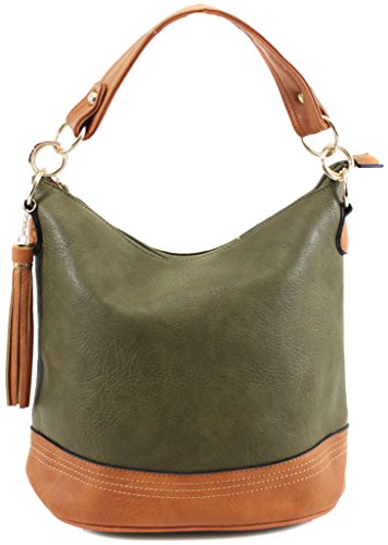 Office Ladies Womens 9660 Designer Olive New Work Bag Handbag Tote 151yIBcRwq