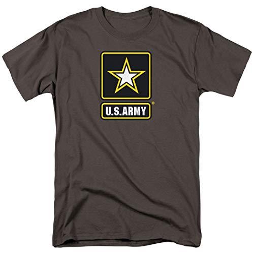 Popfunk U.S. Army Star Logo T Shirt & Exclusive Stickers (X-Large)